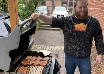 Grillmeister Frank von Exabyters