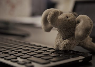 Technikkollege Herr Elefant bei Exabyters