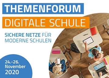 Digitale Schule - Online Sessions unseres Partners LANCOM