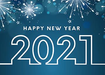 Exabyters wünscht einen guten Rutsch ins neue Jahr 2021