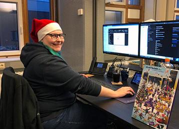 Exabyters Weihnachtswichtel Patricia