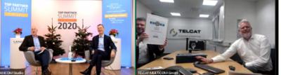 virtuelle Auszeichnung für die TELCAT